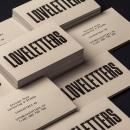 loveletters branding. Un projet de Br et ing et identité de Enrique Díaz González - 27.11.2018