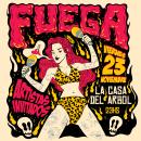 Flyer para Ciclo de artistas. A Design, Illustration, Graphic Design, and Digital illustration project by Erica Perez - 11.28.2018