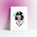 Maniac. Um projeto de Ilustração, Design de personagens, Ilustração vetorial e Ilustração de retrato de Sara Sánchez - 02.12.2018