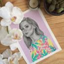 Mi Proyecto del curso: Retrato con lápiz, técnicas de color y Photoshop. Un proyecto de Diseño, Ilustración, Bellas Artes, Pintura, Dibujo a lápiz, Dibujo, Pintura a la acuarela, Dibujo de Retrato, Dibujo realista y Dibujo artístico de Sandra Casado Díaz - 02.12.2018