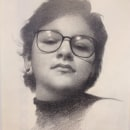 "Retrato Realista con Lapiz de Grafito / Proyecto: ""Retrato de Erna"" . A Realistic drawing project by Erna Alvarado & Kevin Pérez - 12.03.2018"