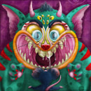 Tom y Jerry?. Un projet de Illustration et Illustration numérique de Moises Andrade - 03.12.2018