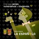 La Española, como ninguna.. A Illustration, Br, ing, Identit, Cop, and writing project by Cinthya Álvarez - 12.03.2018