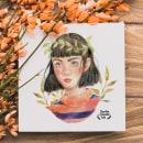 Draw this in your style 2018. Un proyecto de Ilustración, Bellas Artes, Dibujo, Pintura a la acuarela e Ilustración de retrato de Sandra Casado Díaz - 16.07.2018
