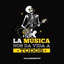Instrumentos Allegro. Redes Sociales. Um projeto de Ilustração, Animação, Design gráfico, Social Media e Ilustração digital de José Montilla - 17.07.2017