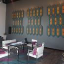 Mural Jade y Obsidiana. Un proyecto de Diseño de interiores de Erick Boror - 01.01.2019