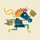 Carteles culturales sobre literatura. Un progetto di Direzione artistica, Design di poster  e Illustrazione di Lonnie Ruiz - 01.01.2016