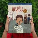Biografía Rubén Darío. Un progetto di Illustrazione e Illustrazione digitale di Lonnie Ruiz - 01.01.2017