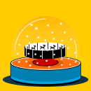 Felicitación Navidad 2018. A 2D Animation project by Sergiopop - 12.24.2018