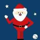 Papá Noel Animado!. Um projeto de Animação, Animação 2D e Animação de personagens de Denisse Colella - 03.01.2019
