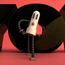 Modelado y animado de la mascota llamada Robot. A 3D Animation project by Oscar Christofani Segovia - 01.04.2019