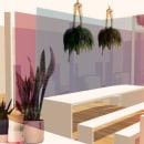 Restaurante vegano Fento. Um projeto de Arquitetura, Arquitetura de interiores e Design de interiores de Nuria Pazos - 10.01.2019