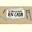 Tu tabla de skate DIY. Un proyecto de Ilustración, Motion Graphics, Animación, Animación de personajes, Animación 2D, Dibujo a lápiz y Dibujo de Andrés Fernández Torcida - 10.12.2017