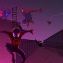 Spider-Version. Un proyecto de Ilustración, Diseño de personajes, Bellas Artes, Cómic, Dibujo e Ilustración digital de Daniel Zapata Viciana - 23.01.2019