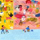Ilustraciones para Lenny Letter. Um projeto de Desenho e Ilustração de María Luque - 23.01.2018