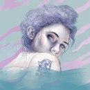 Ojos tan profundos como el mar.. Um projeto de Ilustração e Ilustração de retrato de María González - 10.01.2019