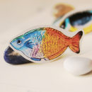 Proyecto peces. Um projeto de Artesanato, Design de produtos e Desenho artístico de María Bunin - 28.01.2019