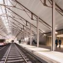 Estación Canfranc. A 3-D, Architektur und Infografik project by AMO 3D Visual - 28.01.2019