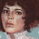 Mi Proyecto del curso: Pinceles y pixeles: introducción a la pintura digital en Photoshop. Un proyecto de Ilustración, Ilustración digital e Ilustración de retrato de Olga Negro - 10.01.2019