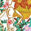 Ilustración con rotuladores: El mundo de Jeff. Un proyecto de Ilustración, Pattern Design y Diseño de moda de Mayara Botelho - 05.02.2019
