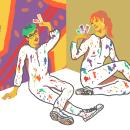 PAINTERS. Un proyecto de Ilustración, Pintura, Dibujo, Diseño de carteles, Ilustración digital, Ilustración de retrato y Dibujo de Retrato de Felipe Web - 15.01.2019