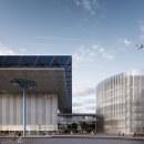 Concurso Aeropuerto OMA. Un proyecto de 3D, Arquitectura, Arquitectura interior, Diseño de interiores, VFX, Ilustración digital y Modelado 3D de AUPA Archviz - 03.05.2018