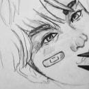 K-pop Drawing fanart. Um projeto de Desenho a lápis, Desenho e Desenho de Retrato de Kai Lm - 13.02.2019