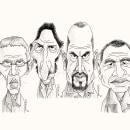 """""""Los Simuladores"""" Santos,Ravenna,Lamponne,Medina 2018✏. Um projeto de Desenho e Desenho a lápis de Daniel Pérez - 26.10.2018"""