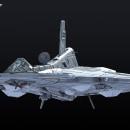 Funky Koval Space Ship. Un proyecto de 3D y Modelado 3D de enriquepbart - 20.02.2019