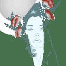 Reflection. Um projeto de Design, Ilustração, Design gráfico e Ilustração de retrato de Maria Biarge - 21.02.2019
