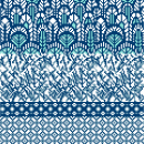 """""""TIESTA"""" Jacquard tres colores con cambio a cuarto color. Tejido de punto industrial . Um projeto de Pattern Design, Design de moda, Design de moda e Ilustração têxtil de Leticia Texeira Nuñez - 21.02.2019"""