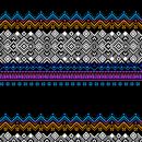 """""""SADIA"""" Jacquard seis colores. Tejido de punto industrial . Um projeto de Pattern Design, Design de moda e Ilustração têxtil de Leticia Texeira Nuñez - 21.02.2019"""
