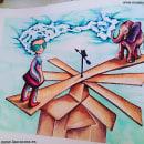 Gafonciospower. Um projeto de Ilustração, Design de personagens, Artes plásticas, Pintura, Desenho, Pintura em aquarela e Desenho artístico de laura cora - 21.02.2015