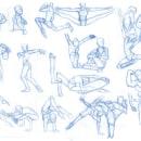 Dancer Sketches. Um projeto de Desenho a lápis e Comic de brant_bi - 22.02.2019