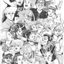 Mi Proyecto del curso: Técnicas de entintado para cómic e ilustración. A Drawing & Illustration project by Erica Perez - 02.24.2019
