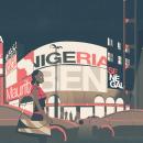 WEF: Africa's Growth. Um projeto de Motion Graphics, Animação, Design de informação, Animação 2D, Stor e telling de Smog - 15.08.2017