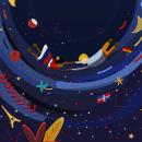 Mi Proyecto del curso: Ilustración vectorial con estilo. Um projeto de Ilustração, Ilustração digital e Ilustração vetorial de Fabiola Thalia Contreras Rosso - 25.02.2019