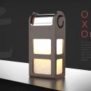 lampara OXO. Un proyecto de 3D y Diseño de producto de Pedro Herrador Román - 04.03.2019