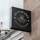 EL ESCARABAJO LITERARIO. A Design, Br, ing, Identit, Graphic Design, Vector Illustration, Icon design, and Logo Design project by Brayan Torres - 03.04.2019