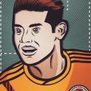 Ilustrando El 10 de Colombia. Um projeto de Design, Ilustração, Ilustração de retrato e Desenho de Retrato de Gustavo Rendon - 14.03.2019