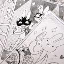 Inktober 2018   Esos conejos. Um projeto de Ilustração, Design de personagens e Concept Art de María Bunin - 21.03.2019