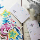 Apocalipsis cretácico . Um projeto de Ilustração, Design de personagens, Ilustração digital e Pintura em aquarela de María Bunin - 21.03.2019