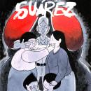 Nueva portada para Suárez. Um projeto de Comic e Ilustração de Mariano Diaz Prieto - 25.03.2019