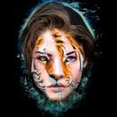 Half Human. Um projeto de Design, Artes plásticas, Criatividade, Desenho, Ilustração digital, Concept Art e Desenho de Retrato de Alicia Salvatierra Corpas - 18.01.2019