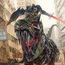 Transformers Fan Art. Um projeto de Ilustração digital de alexfregoso - 29.03.2019