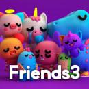 Friends 3. Un progetto di 3D, Character Design, Animazione di personaggi, Animazione 3D , e Character design 3D di Tadeo Soriano - 02.04.2019