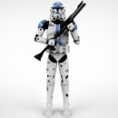 Clone Trooper. A 3D, 3D Animation, and 3D Character Design project by Marco Loreto - 12.11.2016