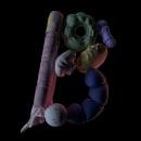 36 Days Of Type. Um projeto de 3D, Animação, Direção de arte e Animação 3D de Edwar Banquet - 03.04.2019