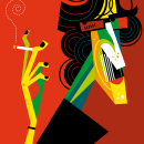 Leyendas del Rock Nacional. Um projeto de Ilustração de Pablo Lobato - 04.04.2011