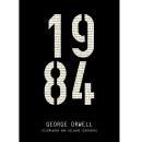 Portada del libro 1984. Un proyecto de Diseño, Diseño editorial y Diseño gráfico de Ana Delgado Contreras - 04.04.2019